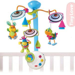 TINY LOVE Baby deka hrací Podmořský svět s polštářkem s aktivitami
