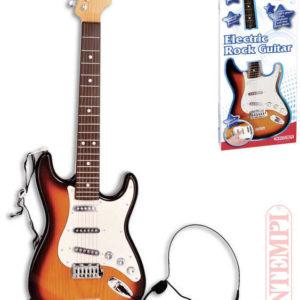 BONTEMPI Kytara dětská rocková elektrická na baterie *HUDEBNÍ NÁSTROJE*