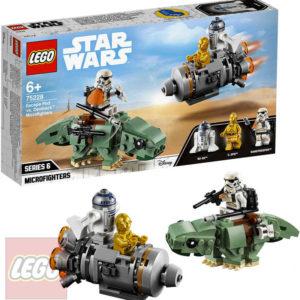 LEGO STAR WARS Únikový modul vs. mikrostíhačky Dewbacků 75228 STAVEBNICE
