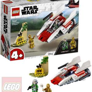 LEGO STAR WARS Povstalecká Stíhačka A-Wing 75247 STAVEBNICE