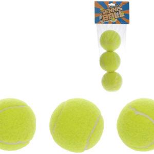 Míčky tenisové 6 cm set 3 ks v sáčku (míček na tenis)