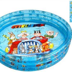 Bazén nafukovací ČTYŘLÍSTEK 122 x 25 cm 3 komory