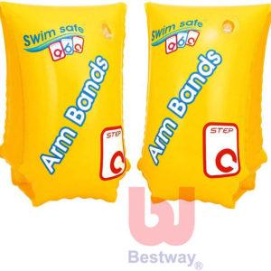 BESTWAY Dětské nafukovací rukávky 6-12 let žluté 30x15cm do vody 1 pár