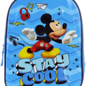 Batoh dětský Mickey Mouse lesklý 30x22,5x8,5cm