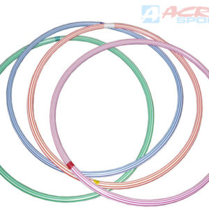 ACRA Obruč hula hop 60cm dětský fitness kruh 4 barvy