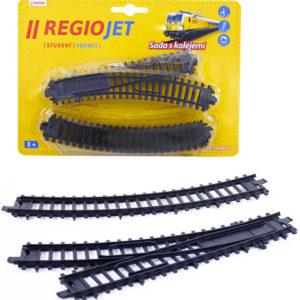 Doplněk rozšíření k vláčkodráze RegioJet set koleje a výhybky na kartě
