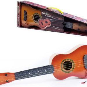 Kytara dětská klasická s trsátkem španělka imitace dřeva *HUDEBNÍ NÁSTROJE*