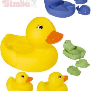 SIMBA Baby Rodinka zvířecí do vany set 3 zvířátka do vody pro miminko