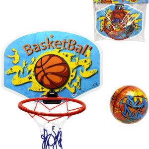 Basketbalový set koš 34x25cm + míček na košíkovou