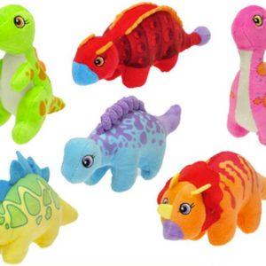 PLYŠ Baby dinosaurus barevný 17-24cm 6 druhů *PLYŠOVÉ HRAČKY*