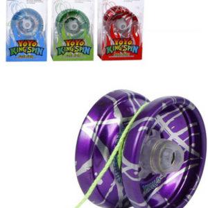 Jo Jo (yo-yo) barevné 5,5cm kovové různé barvy