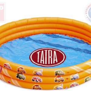 DINO Baby bazén dětský nafukovací TATRA 122x28cm oranžový