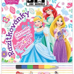 JIRI MODELS Razítkovánky 3v1 Princezny omalovánky sudoku razítka