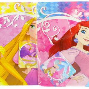 Prostírání dětské Disney Princezny 30x40cm set 2ks v sáčku různé druhy