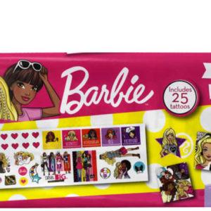 EP Line Tetování dětské Barbie set 2 archy 50 mini tetovaček