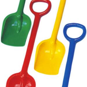 PL Lopatka velká maxi 50cm na písek různé barvy plast