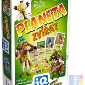 GRANNA Hra IQ Planeta zvířata kvíz *SPOLEČENSKÉ HRY*