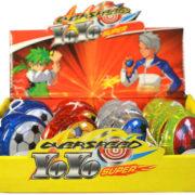 Jo-Jo dětské 5,5cm fotbalový míč plast různé druhy
