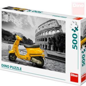 DINO Puzzle skládačka skútr u Kolosea 500 dílků 47x33cm