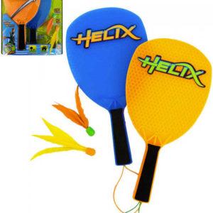 ADC Hra Helix FUN herní set 2 pálky + 2 opeřené míčky pro dva hráče