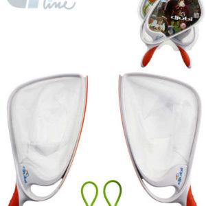 EP Line Hra Phlat Sport set 2 lapače plastové se 2 soft míčky