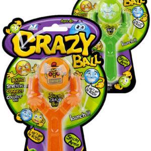 EP Line Hra Crazy Ball prak s míčkem s rukama různé barvy na kartě