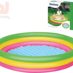 BESTWAY Baby bazén kruhový 152x30cm nafukovací brouzdaliště 51103