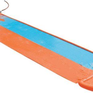 BESTWAY Skluzavka dvojitá vodní s vlhčením H2O Go 5,5m s bazénkem 52264