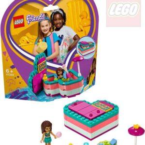 LEGO FRIENDS Andrea a letní srdcová krabička 41384 STAVEBNICE