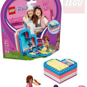 LEGO FRIENDS Olivia a letní srdcová krabička 41387 STAVEBNICE