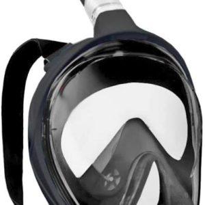 SEDCO GoProAD potápěčská maska celoobličejová se šnorchlem do vody černá