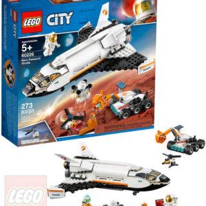 LEGO CITY Raketoplán zkoumající Mars 60226 STAVEBNICE