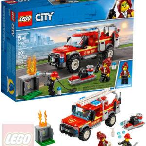 LEGO CITY Zásahový vůz velitelky hasičů 60231 STAVEBNICE