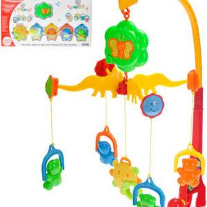 Baby kolotoč nad postýlku na baterie Zvuk různé druhy pro miminko