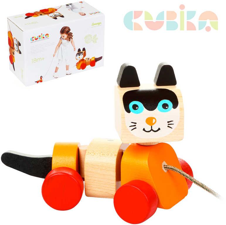 velká hračka kočička