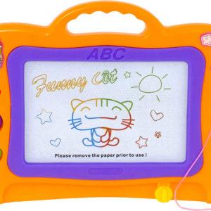 Tabulka magnetická dětský set se 3 razítky a kouzelným perem různé barvy