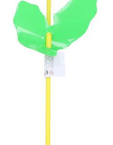 Větrník plastový na tyčce klasický duhový Květinka