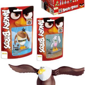 EDUKIE Angry Birds set 32 dílků v sáčku různé druhy STAVEBNICE