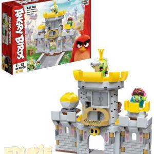 EDUKIE Angry Birds hrad set 239 dílků + 2 figurky STAVEBNICE