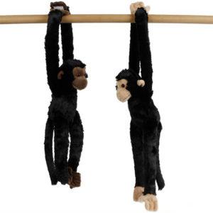 PLYŠ Opice 50cm dlouhé ruce a nohy na suchý zip *PLYŠOVÉ HRAČKY*