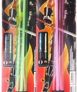 Meč samurajský 66cm na baterie Světlo Zvuk různé barvy plast