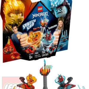 LEGO NINJAGO Spinjitzu výcvik Kai vs. Samuraj 70684 STAVEBNICE