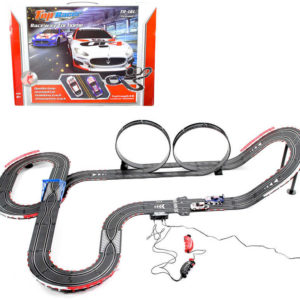 Autodráha Top Racer Maserati 8m 2x looping 2x křížení na adaptér