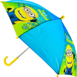 Deštník dětský Mimoni (Mimoňové) manuální otevírání modrý