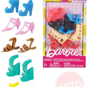 MATTEL BRB Boty doplňky pro panenku Barbie set 5 párů různé druhy