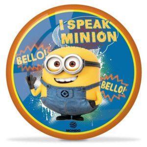 ACRA Míč Mondo Bello potisk Mimoni (Minions) 23cm modrý