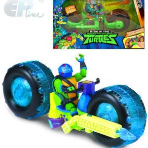 EP line Želvy Ninja set figurka s motorkou a funkční zbraní různé druhy plast