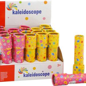 Kaleidoskop dětský krasohled s potiskem různé barvy