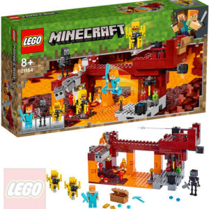 LEGO MINECRAFT Most ohniváků 21154 STAVEBNICE