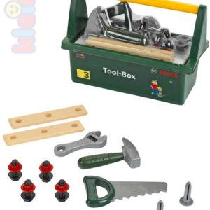 KLEIN Bosch Tool Box set nářadí dětské plastové malý kutil v přepravním boxu